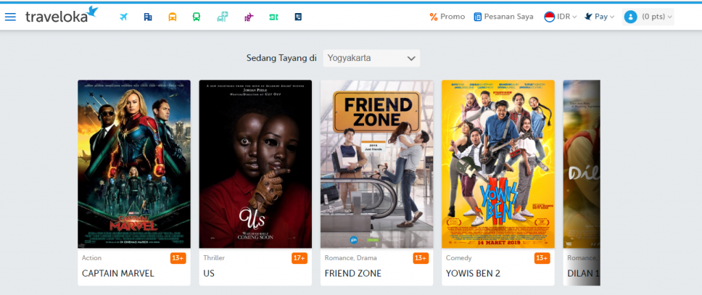 Traveloka Movies