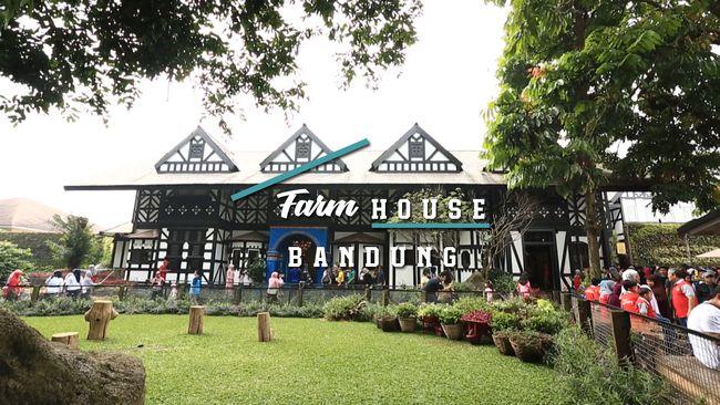 Jalan-jalan Seru ke Farm House Bandung dengan Traveloka Xperience